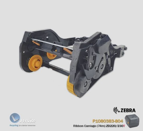 Carro do Ribbon Zebra ZD220/ZD230 TT