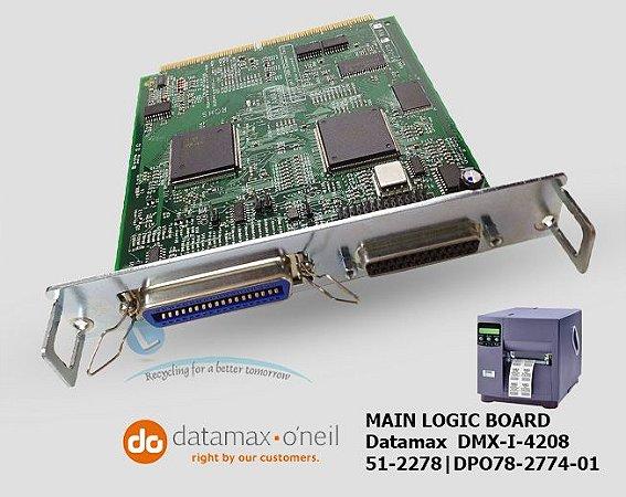 Placa Principal Datamax DMX-I-4208|DPO78-2774-01|51-2278-00