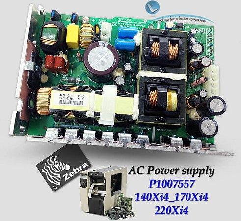 Placa Fonte AC Zebra 140Xi4/170Xi4/220Xi4|P1007557