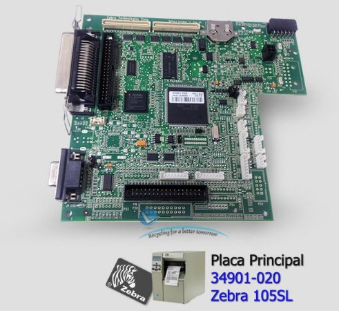 Placa Principal Zebra 105SL |34901-020