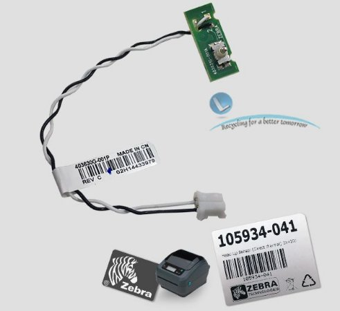 Sensor tampa aberta Zebra GX420 D