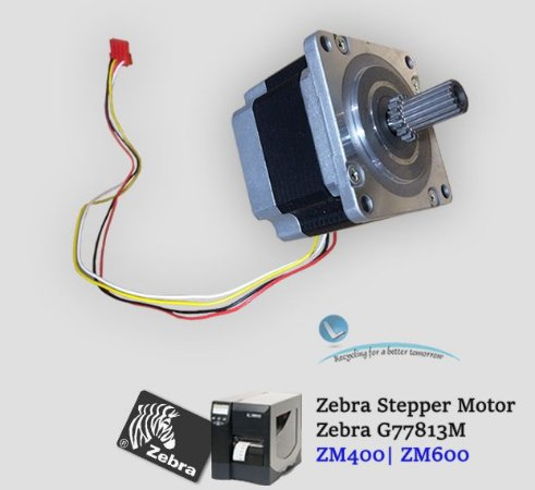 Motor de Passo Zebra ZM400/ZM600|G77813M