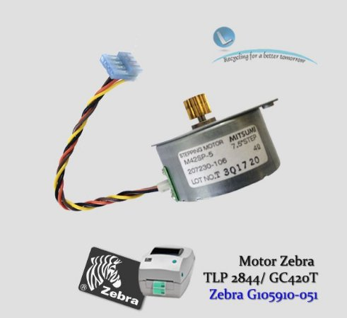 Motor Zebra TLP 2844/ GC420D/T|G105910-051