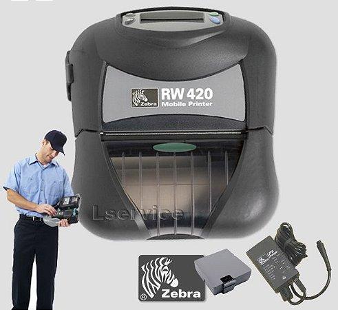 Impressora Zebra Mobile RW420  Bluetooth