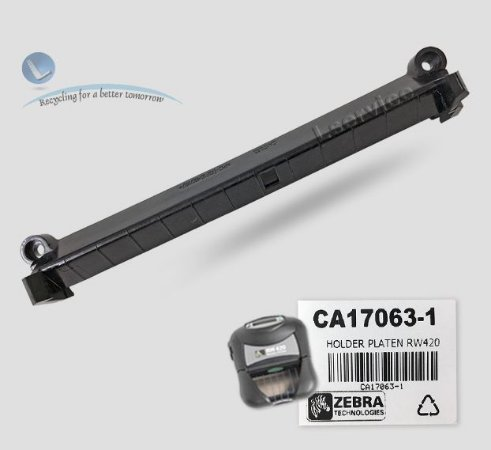 Suporte do rolo de impressão Zebra RW420 | CA17063-1