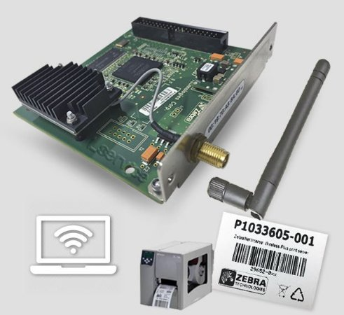 Placa Interna WIFI Zebra S4M | P1033605-001