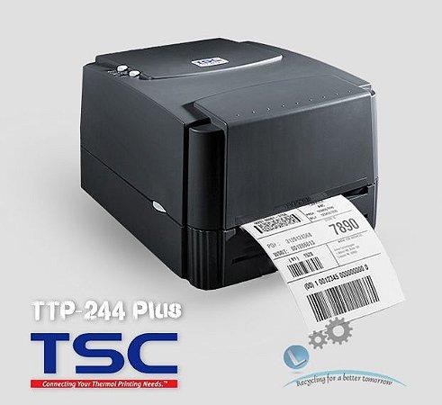 Impressora de etiqueta e código de barras TSC-TTP 244 Plus