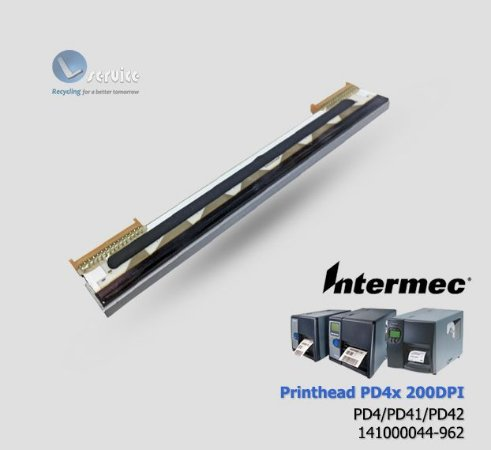 Cabeça de impressão Intermec PD4/PD41/PD42|141-000044-962