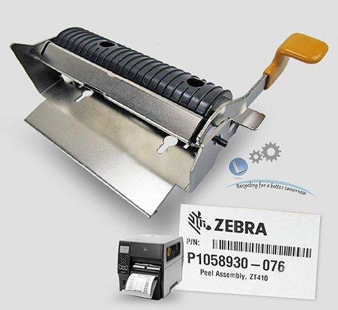 Peel Off Zebra ZT410