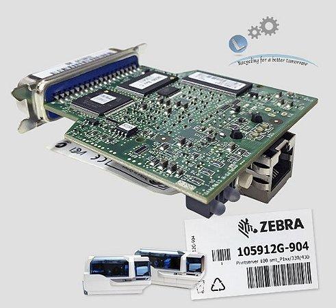 Placa de Rede Ethernet Zebra P330i/P430i |105912G-904