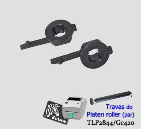 Travas do Platen roller Zebra TLP2844/GC420
