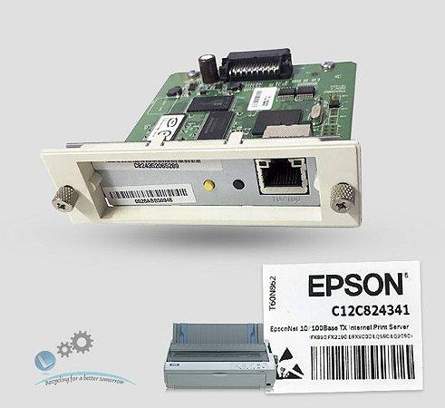 Placa Ethernet Epson 10/100Base TX Internal Print Server |T60N862