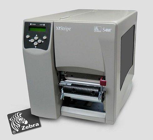 Impressora de etiquetas Zebra S4M + Peel off
