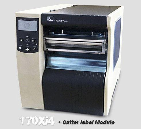 Impressora Industrial Zebra 170Xi4 + Cutter |L 168mm (↔)