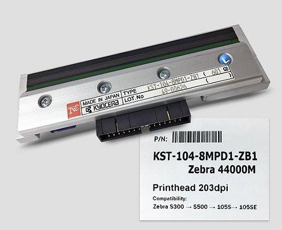 Cabeça de Impressão Zebra 105S/SE, S300 e S500 - 203dpi