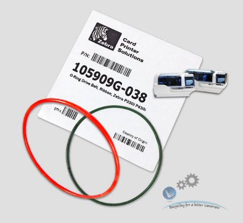 Correia O-Ring Zebra P330i/P430i → 105909G-038