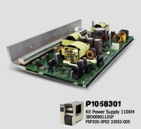 Placa Fonte AC/DC Zebra 110XI4 |P1058301