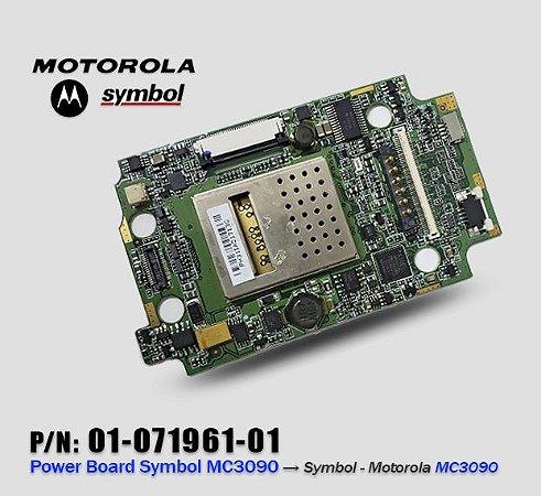 Placa de energia Coletor Symbol Motorola Zebra MC3070/MC3090 Gun e Brick