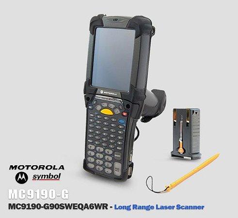Coletor de Dados Motorola-Symbol MC9190-G → Scanner 2D longa distancia