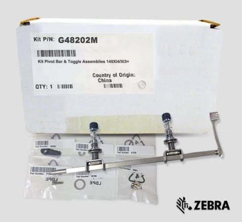 Kit Pivot Bar & Toggle Zebra140Xi4/Xi3 | G48202M