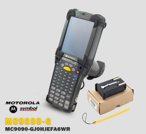 Coletor de Dados Motorola-Symbol MC9090-G → Windows® Mobile