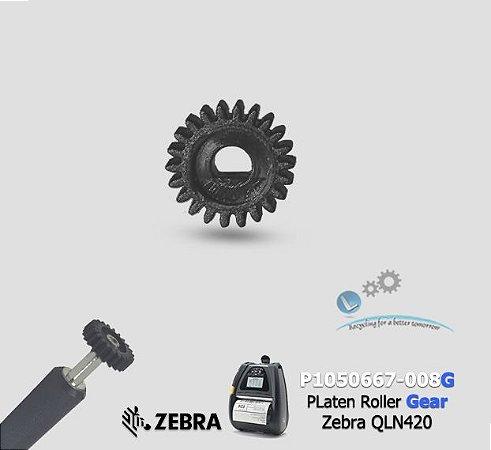 Engrenagem (22T) Zebra QLn420 |P1050667-008G