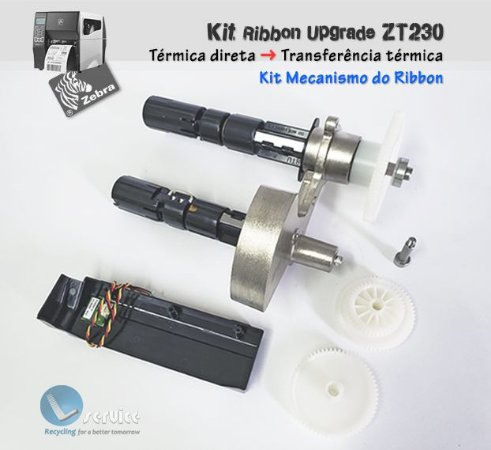 Kit Upgrade Mecanismo do Ribbon Zebra ZT230| P1037974-026