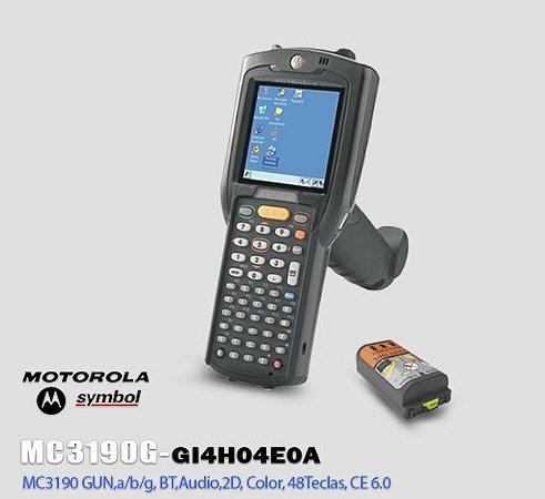 Coletor de Dados Motorola-Symbol MC3190 GUN,2D Long Range