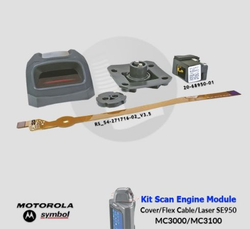Kit completo Scan Engine Motorola-Symbol MC3000/MC3100