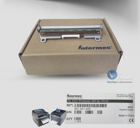 Cabeça Térmica Intermec PC43 |201-031-420