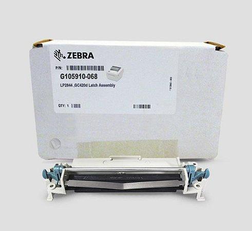 Mecanismo da cabeça de impressão Zebra LP2844/GC420 D |G105910-068