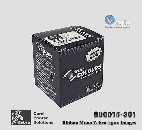 Ribbon Zebra Mono (Preto) | 800015-301