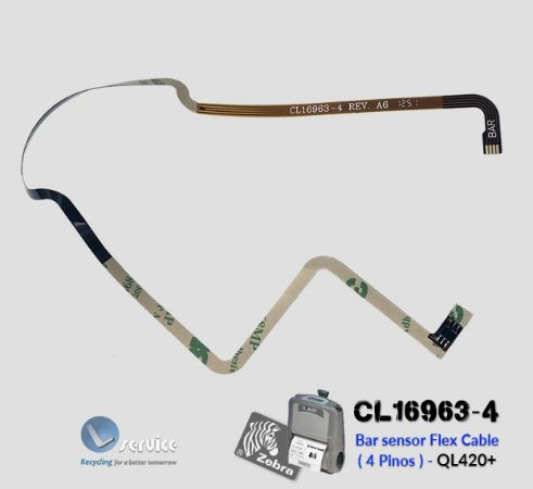 Sensor Flex cable Zebra QL420 Plus | CL16963-4