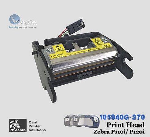 Cabeça de Impressão Zebra Card P110i/P120i | 105940G-270