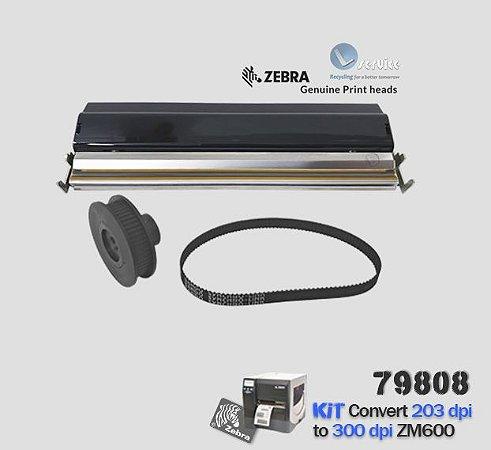 Kit de Conversão Zebra ZM600 de 203dpi → 300dpi