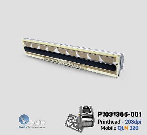 Cabeça Térmica Zebra Mobile QLn320| P1031365-001