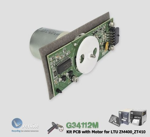 Kit Placa e Motor LTU Z4M/ZM400/ZT410 | G34112M