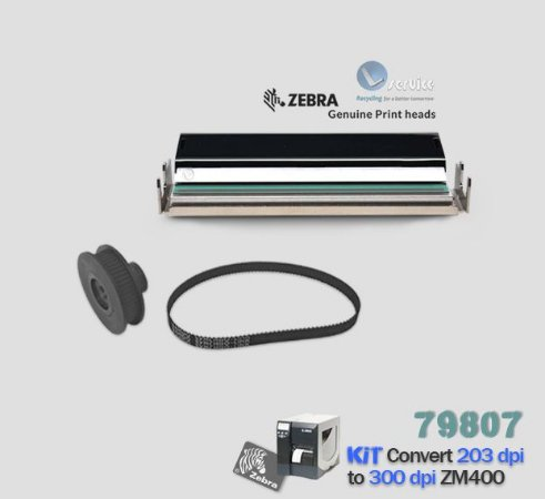 Kit de Conversão Zebra ZM400 de 203dpi → 300dpi |79807