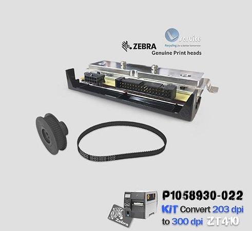 Kit de Conversão Zebra ZT410 de 203dpi → 300dpi |P1058930-022