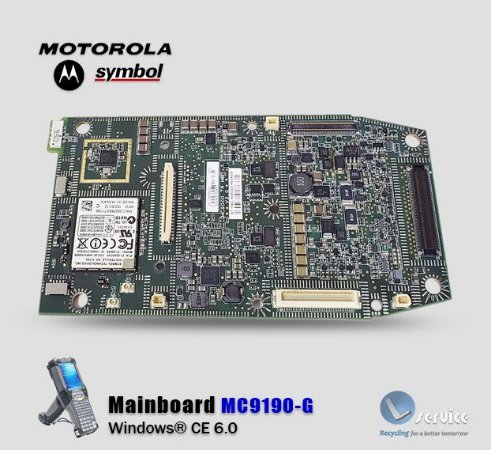 Placa Principal Motorola-Symbol MC9190-G → Windows® CE 6.0
