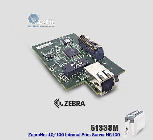 Placa de Rede Interna 10/100 ZebraNet™ HC100
