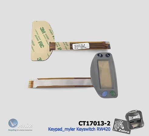 Keypad-Keyswitch Zebra mobile RW420