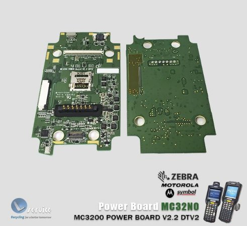 Placa de energia Coletor MC3200/MC32N0 Gun e brick