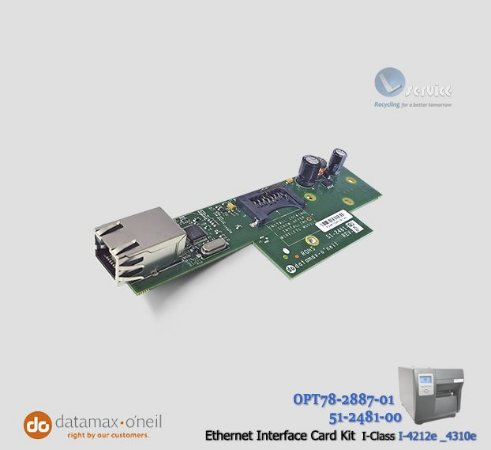 Placa de Rede Ethernet Datamax I-4212e