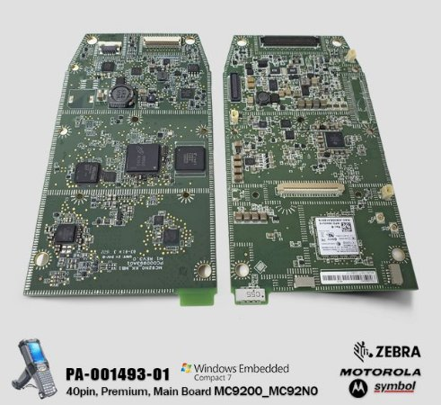 Placa Principal Motorola-Symbol MC92N0-G → Windows® CE 7.0