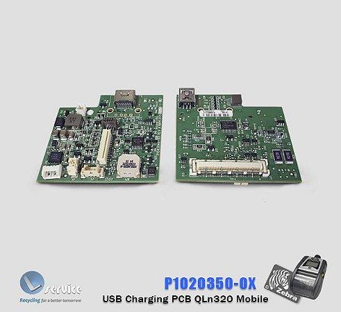 USB charging PCB Zebra QLn320