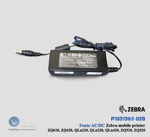 Fonte AC/DC Zebra ZQ510/ZQ520