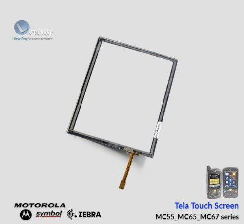 Tela Touch Screen Zebra MC55/MC65/MC67