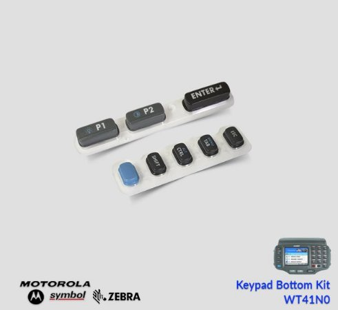 Keypad Bottom Zebra WT41N0