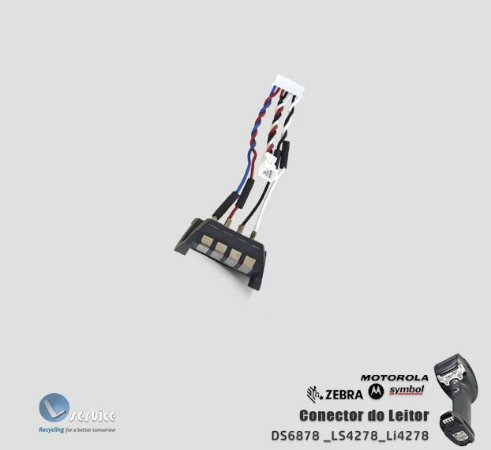 Conector do Leitor Zebra DS6878/LS4278/Li4278